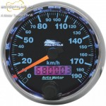 "AUTO METER 2 5/8""190KM/H SPEEDO BLK kép"