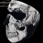 Black&White Skull arckmaszk kép
