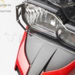 Fekete keretes lámpavédő BMW F 700 GS / F 800 GS (12-) kép