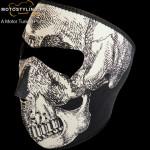 Foszforeszkáló Dark Skull arcmaszk kép