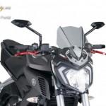Naked New Generation plexi Yamaha Yamaha MT-125 (2015-2016) kép