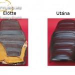Saddle Skin gyári méretü üléshuzatok kép