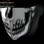 Skull Foszforeszláló Arcmaszk kép