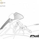 Standard plexi,Puig Suzuki GSXR750 (2000-2003)/600 (2001-2003)/1000 (2001-2002) kép