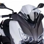 V-Tech Sport plexi Yamaha X-MAX 400 (2013-2014) kép