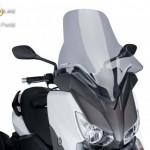 V-Tech Túra plexi Yamaha X-MAX 125/250/400 (2013-2014) kép