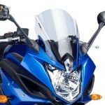Verseny plexi,Puig Yamaha XJ6 DIVERSION F 2010-2015 kép