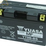 YT9B-4  12V, 8Ah kép