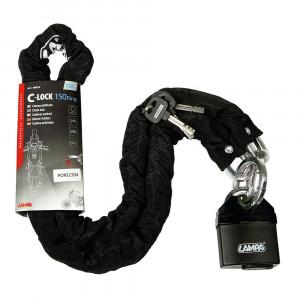 Lampa C-Lock 150R - Motorkerékpár Lánczár - 150cm kép